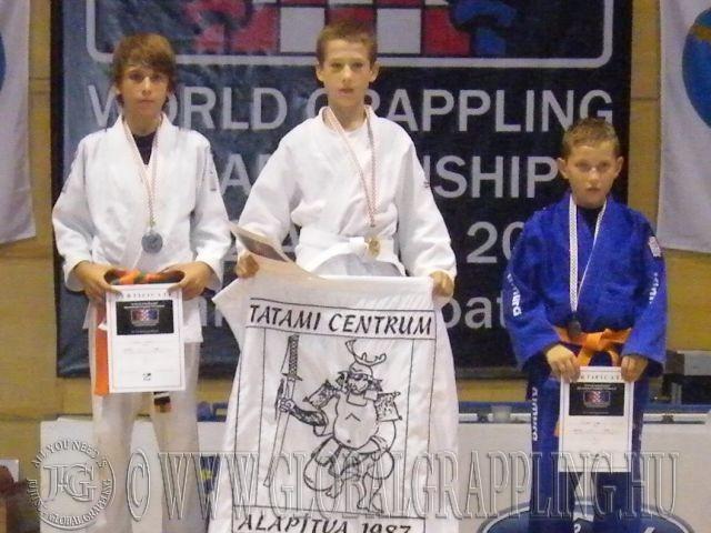 Szűcs Andris a dobogó legfelső fokán a 2010-es Világbajnokságon
