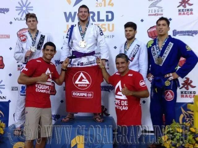 Kristóf a 2014-es Brazil Jiu Jitsu VB-n aranyérmes lett