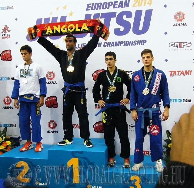 Lakatos 'ebihal' Sándor BJJ EB bronzérmes