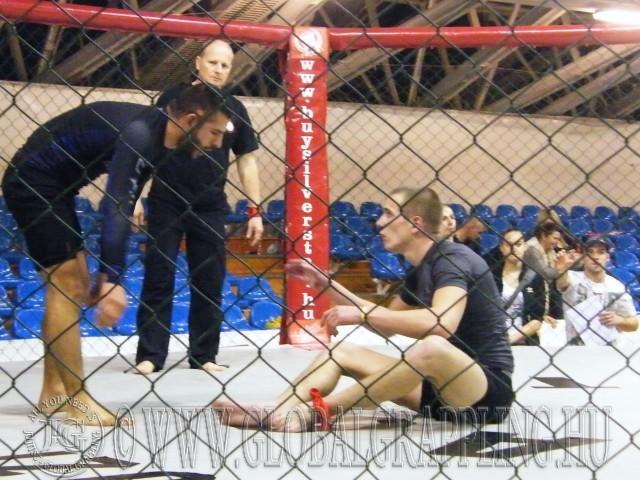 Akkor tudjuk megrendezni, ha párhozamosan MMA verseny is zajlik és van felállítva ketrec