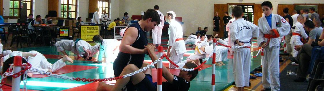 A grappling versenyszám először a ju jitsu versenyeinken volt
