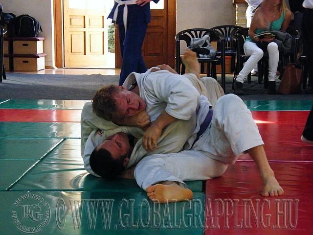 Szekeres Ákos és Antal Attila küzdelme a 105 kg-ban