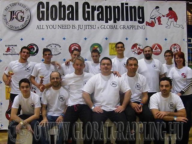A szervezők csoportképe