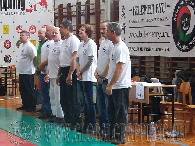 A szervezők egy része a megnyitó ünnepségen
