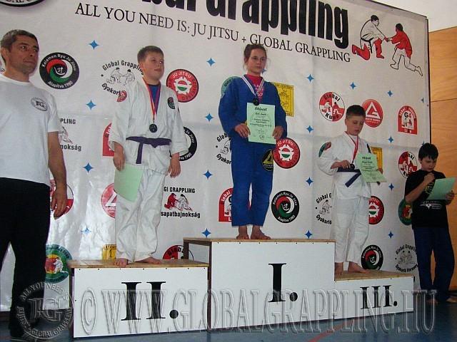 Gi Grappling Ifjúsági Fiú 53 kg. kategória dobogója