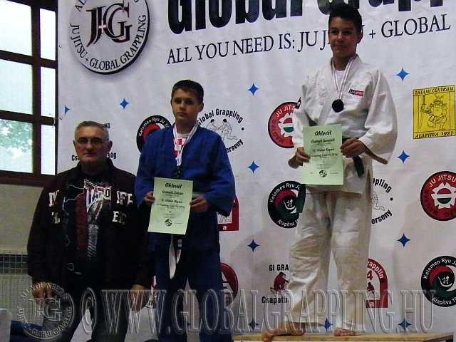 Gi Grappling Junior Fiú 59 kg. dobogója