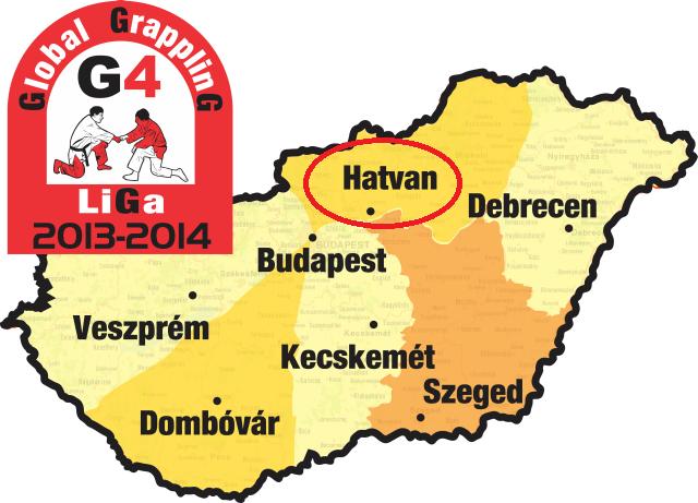 A G4 Liga 2013-2014-es évadának hét helyszíne
