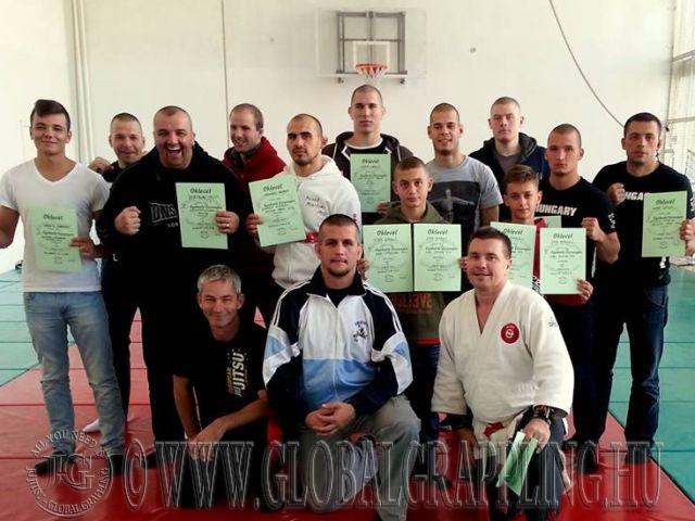 A Szegedi Küzdősport Klub versenyzői