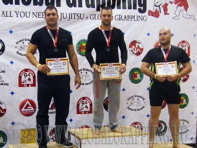 A NoGi 105+ kg-os kategória élén Fekete Dániel – Grizzly Grappling Team