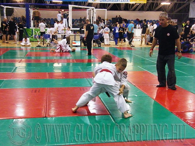 Pillanatkép a versenyen - küzdelmek a pástokon és a ketrecben