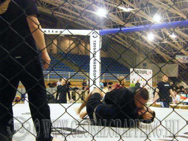 Cage Grappling most volt először a versenyen