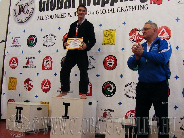 A Gi Grappling Junior Fiú 63 kg. kategória dobogója