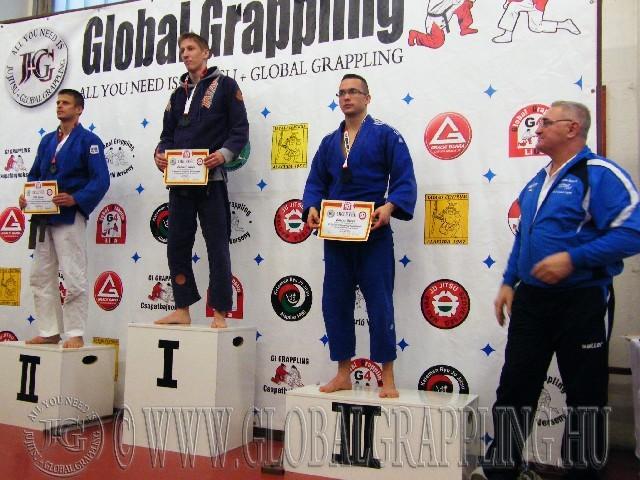 A Gi 65 kg-os kategória élén Rákóczi Tamás - Gracie Barra Debrecen - Combat Club