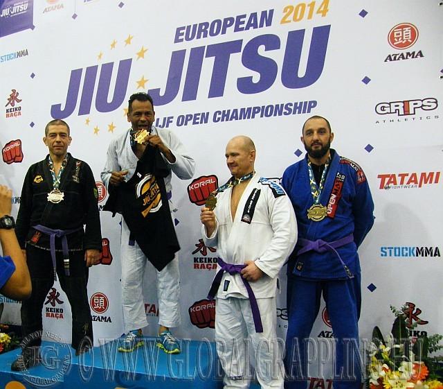 Fekete Sándor BJJ EB ezüstérmes