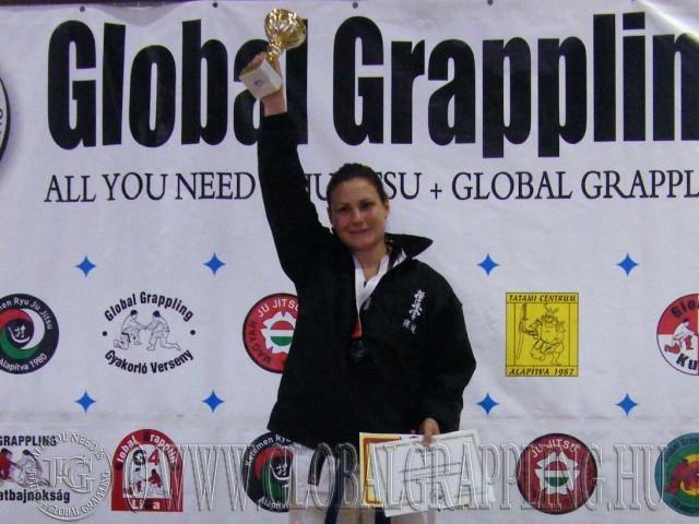 Legeredményesebb női versenyző: Cserepkei Dóra – Magyar KyoNewaza Szövetség