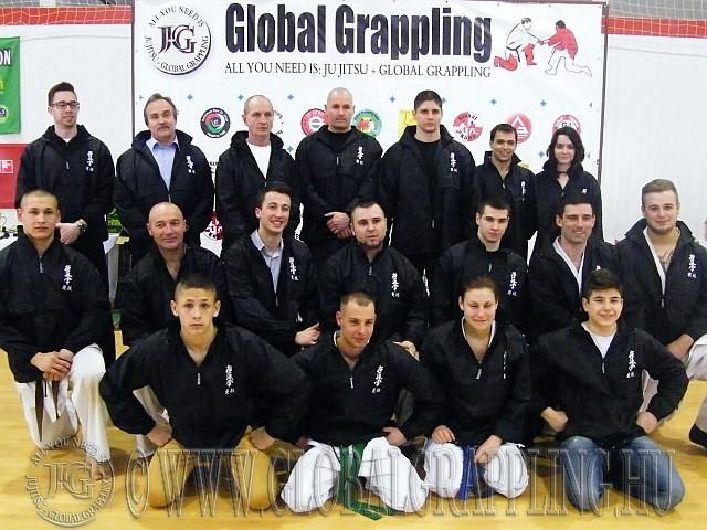 A Magyar KyoNewaza Szövetség versenyzői először vettek részt Global Grappling versenyen