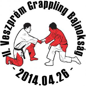 A II. Veszprém Grappling Bajnokság emblémája