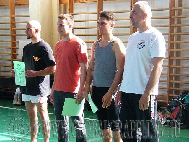 Balról jobbra: Molnár Ádám, Fodor Levente, Radics Márk