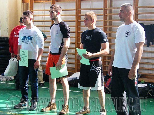 Balról jobbra: Fábián Dávid, Fodor Balázs, Bognár Márk