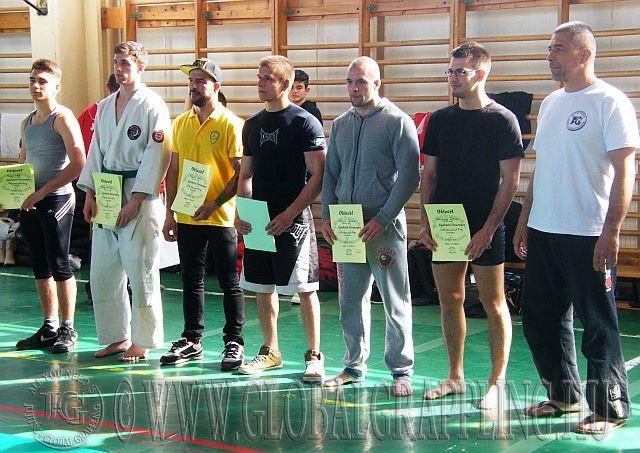 Balról jobbra: Radics Márk, Fekete Attila, Szabó Tamás, Bognár Márk, Fekete Dániel, Dencinger Dávid