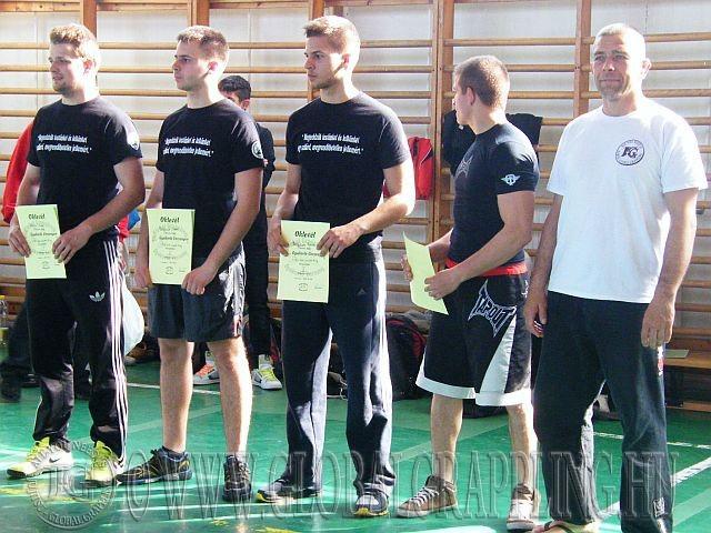 Balról jobbra: Alexa Márk, Pálfalusi Viktor, Pálfalusi Patrik, Bognár Márk