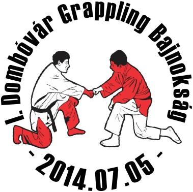 Az I. Dombóvár Grappling Bajnokság emblémája
