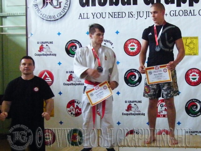 NoGi Grappling Junior Fiú 71 kg. dobogója