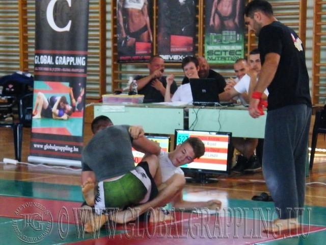 A NoGi Grappling Felnőtt 85 kg-os kategória döntője