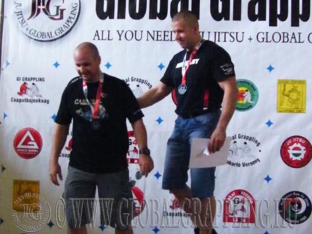 NoGi Grappling Senior 1 Férfi 95 kg. dobogója