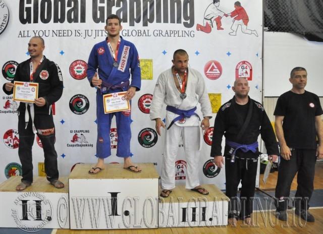 A Gi 95 kg-os kategória élén Szűcs Kristóf - Tatami Centrum
