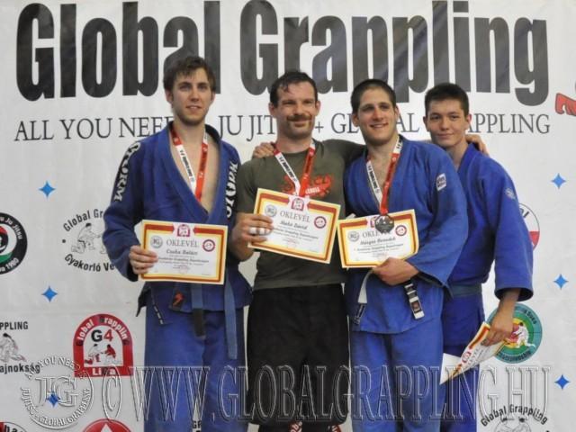A Gi 85 kg-os kategória élén Makó Dávid és Csuka Balázs