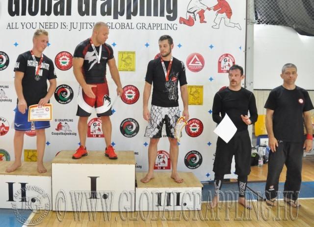 A NoGi 85 kg-os kategória élén Sándor József – Colonia Center