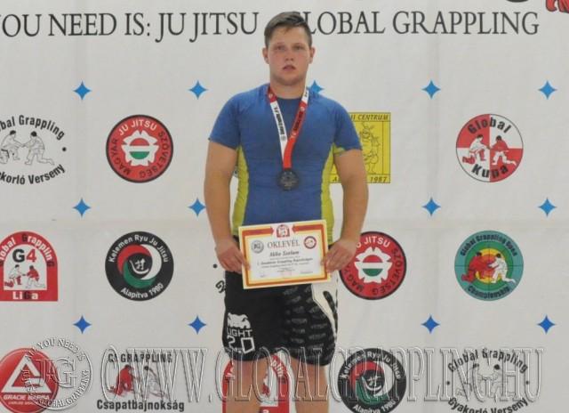 Combat Grappling Junior Fiú 87 kg dobogója