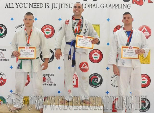 A Combat 95 kg-os kategória élén Szabó Sándor – Gracie Barra Farkasok