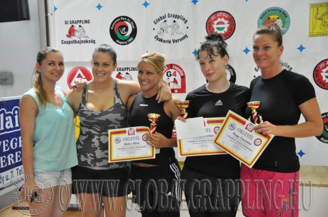 A Legeredményesebb Női Versenyző Németh Orsolya (jobbról a második)