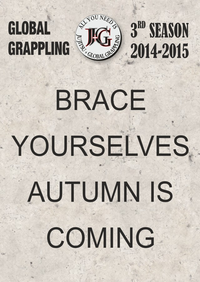 Brace yourselves! Autumn is coming!
