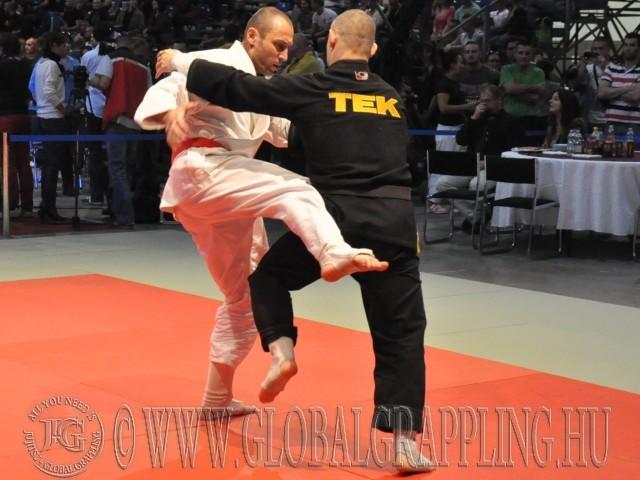 A Combat Grappling Férfi Felnőtt 85 kg döntője