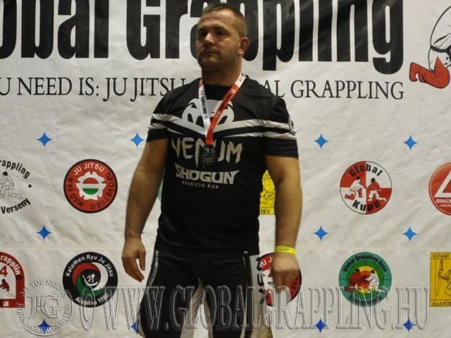 A NoGi Grappling Felnőtt Férfi 105 kg. kategória dobogója
