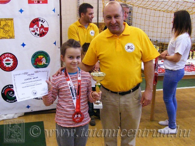 Legeredményesebb női versenyző: Cserényi Helga – Tatami Centrum