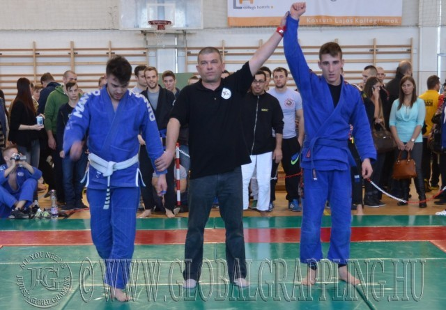 Új bírónk, Greksa Zoltán eredményt hirdet