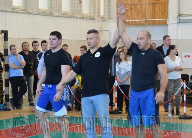 Új bírónk, Krajkó Zoltán eredményt hirdet
