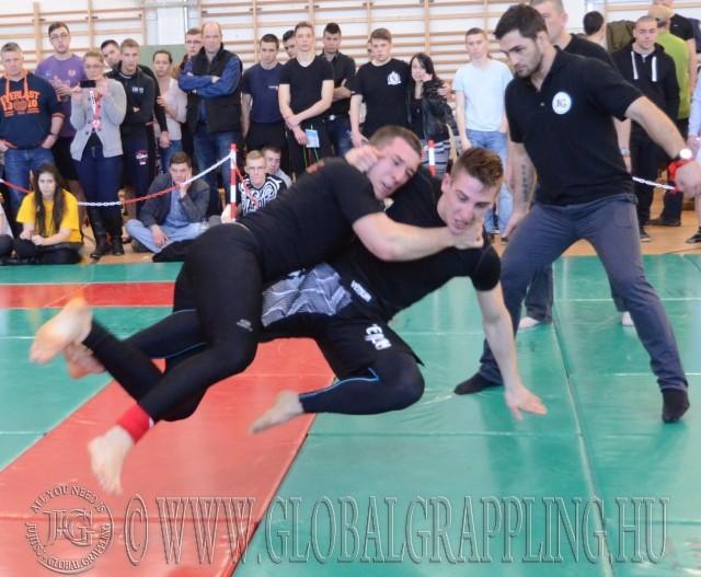 NoGi Open -80 kg: akció közben