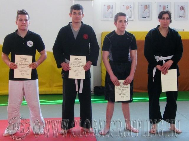 A Gi Fiú Junior 65 kg kategória résztvevői