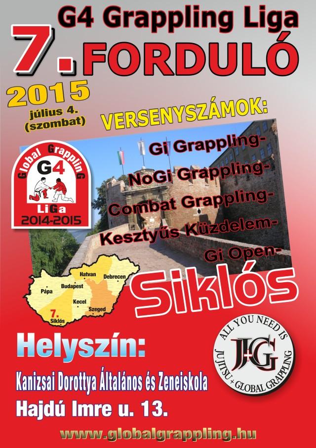 Az I. Siklós Grappling Bajnokság plakátja
