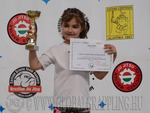 A Legeredményesebb Gyermek versenyző: Bitó Liliána (3K Egyesület)