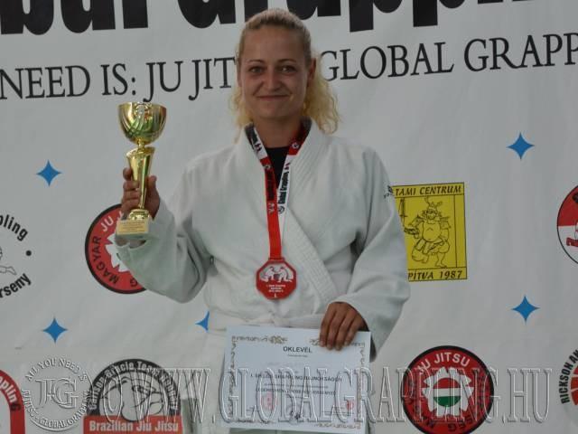 A Legeredményesebb női versenyző: Varga Nikolett – Tatami Centrum