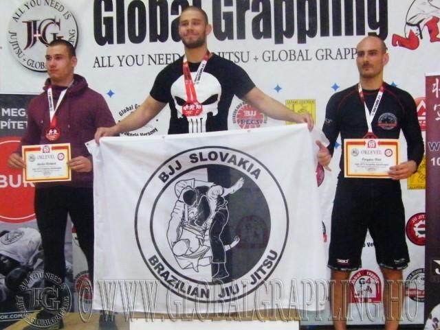 Michal Kukumberg – BJJ Slovakia megnyerte mindkét kategóriáját a tavalyi versenyen