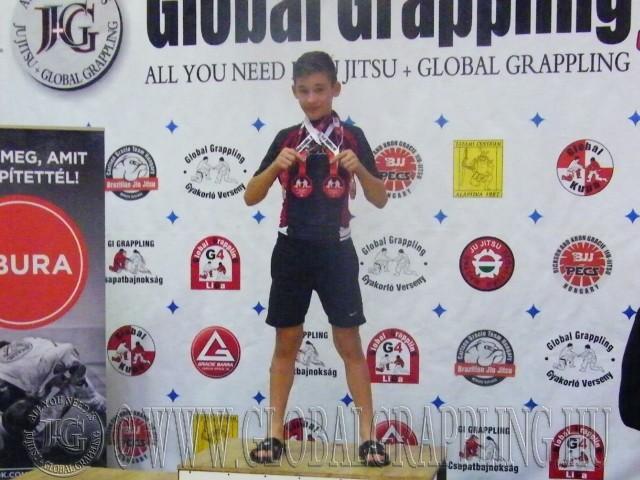 A Legeredményesebb gyermek versenyző: Dobos András – Tatami Centrum