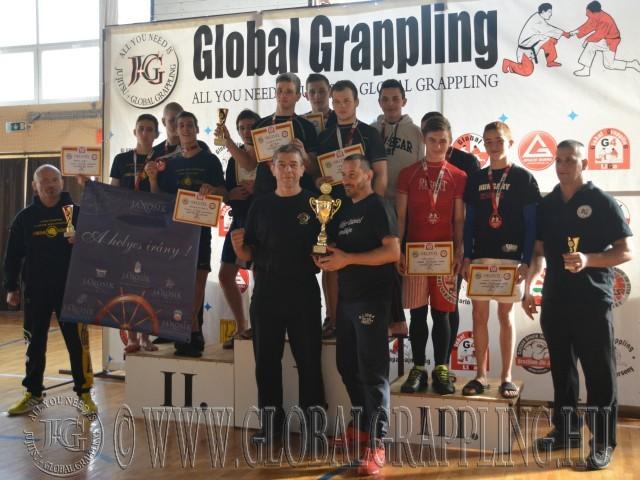 A Junior Csapatbajnokság dobogója