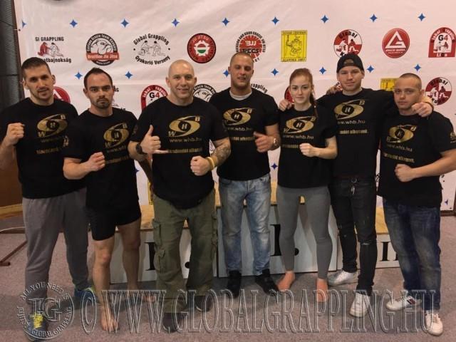 A Győri Koko Gym MMA SE csapata a Bajnokságon